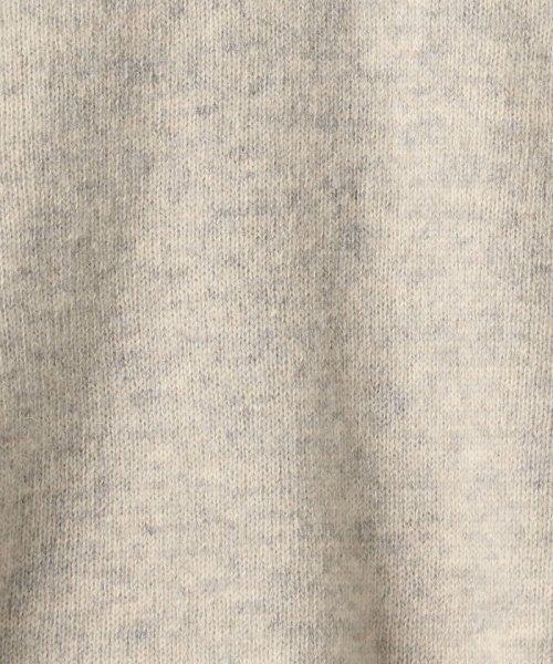 coen(コーエン)/【『MORE』2月号掲載・手洗いできる】ラムウールオフタートルニット/76306068055_img06