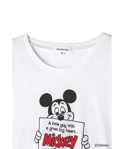 NATURAL BEAUTY BASIC(ナチュラル ビューティー ベーシック)/Disneyコレクション・ミッキーTシャツ/0178263871_img09