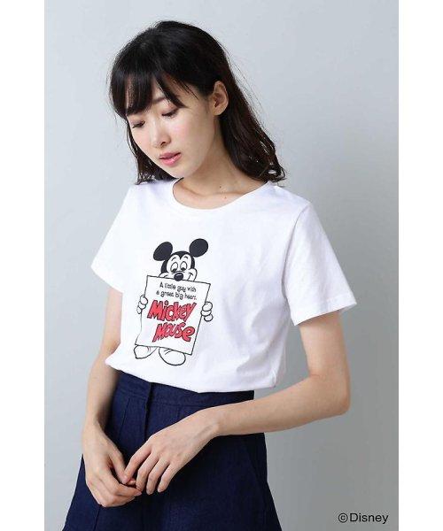 NATURAL BEAUTY BASIC(ナチュラル ビューティー ベーシック)/Disneyコレクション・ミッキーTシャツ/0178263871_img10