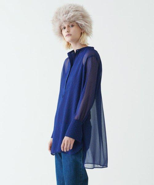 SOULEIADO(SOULEIADO)/ポリエステルプリント ドレスシャツ/75018401101_img02