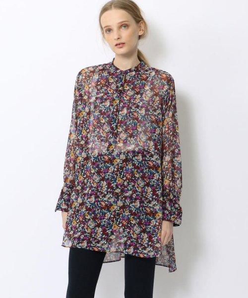 SOULEIADO(SOULEIADO)/ポリエステルプリント ドレスシャツ/75018401101_img03