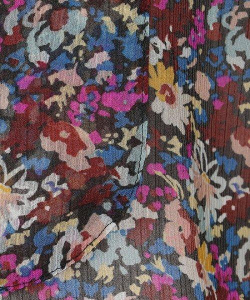 SOULEIADO(SOULEIADO)/ポリエステルプリント ドレスシャツ/75018401101_img06