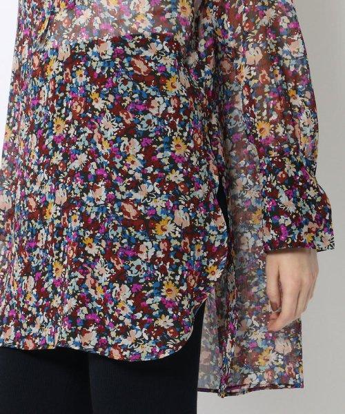 SOULEIADO(SOULEIADO)/ポリエステルプリント ドレスシャツ/75018401101_img10