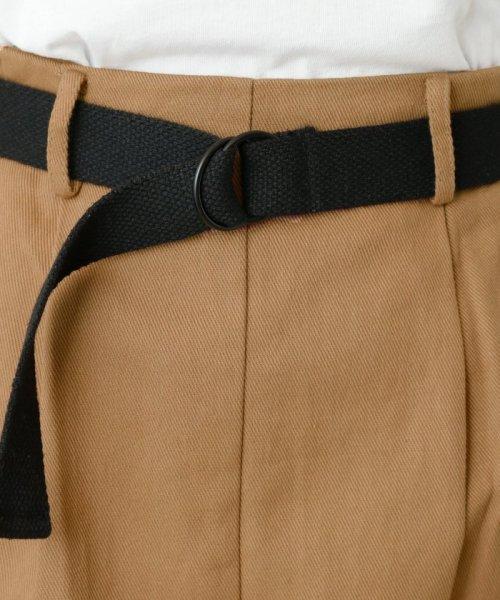 DOUBLE NAME(ダブルネーム)/ベルト付ライン台形スカート/286213390_img10
