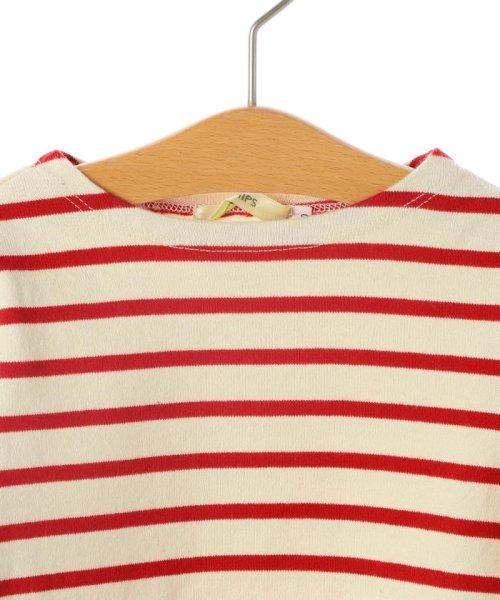 SHIPS KIDS(シップスキッズ)/SHIPS KIDS:マリン ボーダー ボートネック バスクシャツ(80~90cm)/512040354_img01