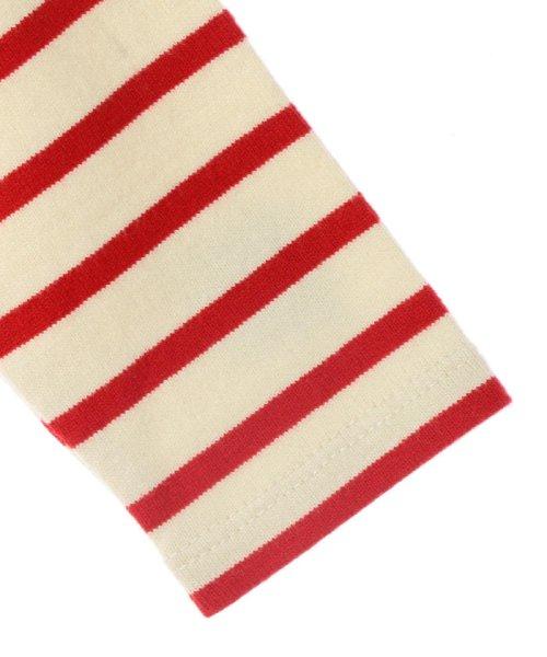 SHIPS KIDS(シップスキッズ)/SHIPS KIDS:マリン ボーダー ボートネック バスクシャツ(80~90cm)/512040354_img02