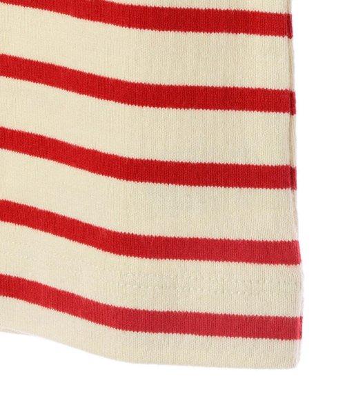 SHIPS KIDS(シップスキッズ)/SHIPS KIDS:マリン ボーダー ボートネック バスクシャツ(80~90cm)/512040354_img03