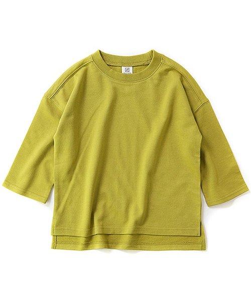 devirock(デビロック)/スリット入りミニ裏毛7分袖Tシャツ/DT0005_img04