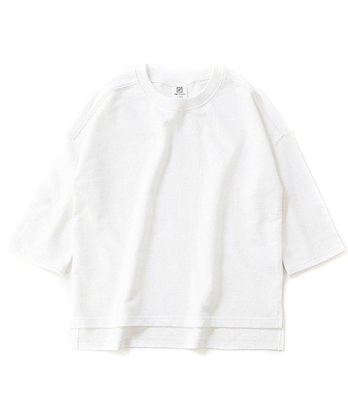 devirock(デビロック)/スリット入りミニ裏毛7分袖Tシャツ/DT0005_img08