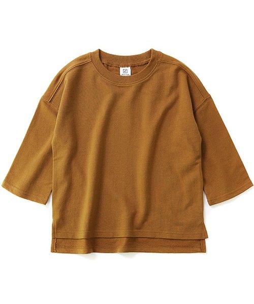 devirock(デビロック)/スリット入りミニ裏毛7分袖Tシャツ/DT0005_img14