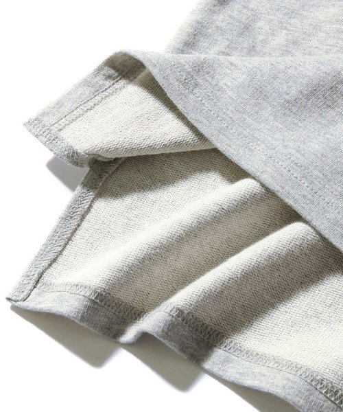 devirock(デビロック)/スリット入りミニ裏毛7分袖Tシャツ/DT0005_img18