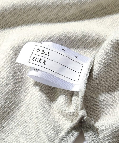 devirock(デビロック)/スリット入りミニ裏毛7分袖Tシャツ/DT0005_img19