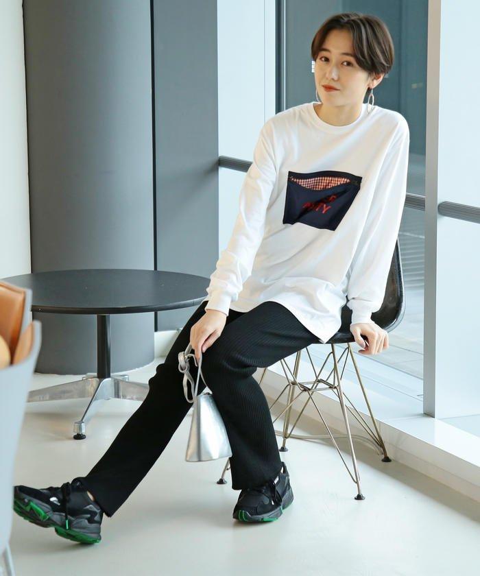 VEIL × Ray BEAMS / 別注 ナイロンポケット Tシャツ