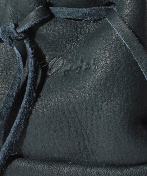 Otias(オティアス)/オティアス Otias / 巾着ショルダーバッグシュリンクレザーオイル仕上げ/050006312_img05