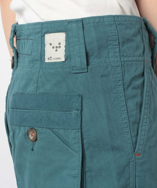 BLUEWAY(ブルーウェイ)/バックポケットワイドパンツ/E1337_img04