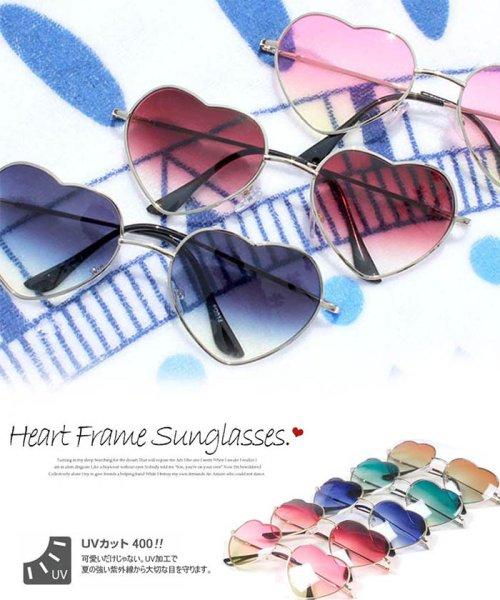miniministore(ミニミニストア)/サングラス レディース ハート型 グラデーション めがね グラサン メガネ 眼鏡/1KALUN-001_img01