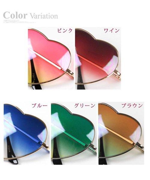 miniministore(ミニミニストア)/サングラス レディース ハート型 グラデーション めがね グラサン メガネ 眼鏡/1KALUN-001_img07