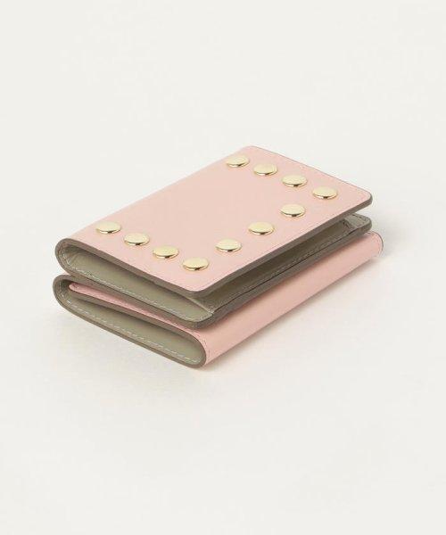 Demi-Luxe BEAMS(デミルクスビームス)/Demi-Luxe BEAMS / スタッズ 三つ折財布/64640240914_img02