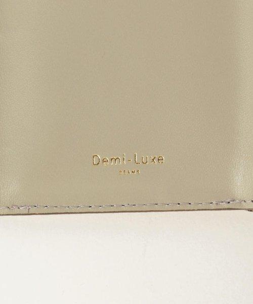 Demi-Luxe BEAMS(デミルクスビームス)/Demi-Luxe BEAMS / スタッズ 三つ折財布/64640240914_img04