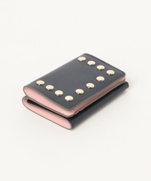 Demi-Luxe BEAMS(デミルクスビームス)/Demi-Luxe BEAMS / スタッズ 三つ折財布/64640240914_img09
