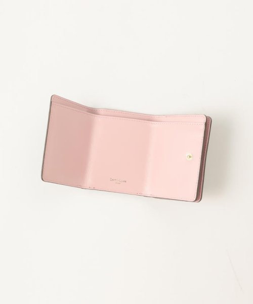 Demi-Luxe BEAMS(デミルクスビームス)/Demi-Luxe BEAMS / スタッズ 三つ折財布/64640240914_img10