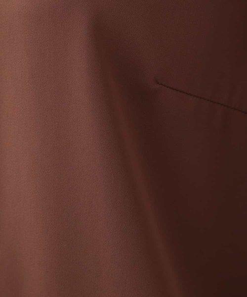 OFUON(オフオン)/【洗濯機で洗える】レース切り替えシフォンブラウス/EUBJD05059_img06