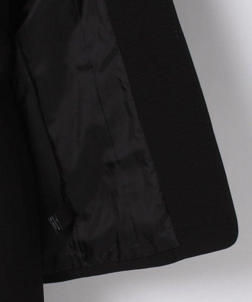 LAPINE FORMAL(ラピーヌ フォーマル)/【オールシーズン・喪服・礼服・フォーマル用】ボーダー生地ドレスレット付きジャケット/476240_img05
