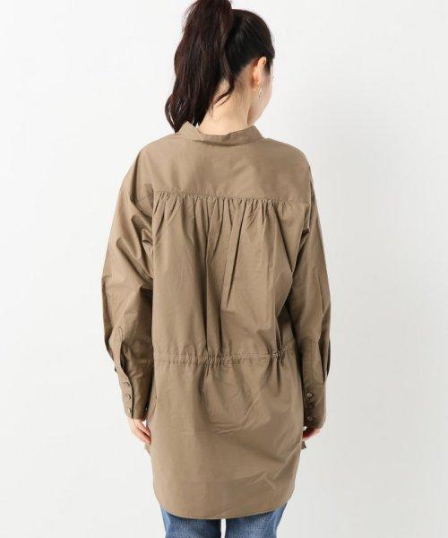 SLOBE IENA(スローブ イエナ)/スキッパーチュニックシャツ/18050912801030_img07