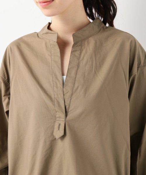SLOBE IENA(スローブ イエナ)/スキッパーチュニックシャツ/18050912801030_img10