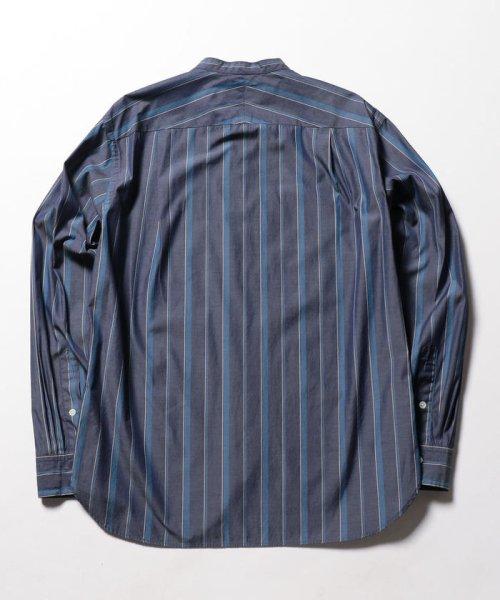 NOLLEY'S goodman(ノーリーズグッドマン)/バンドカラーシャツ/8-0086-5-71-003_img01