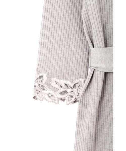 PROPORTION BODY DRESSING(プロポーション ボディドレッシング)/ハートネック袖レースリブニットワンピース/1218240907_img13