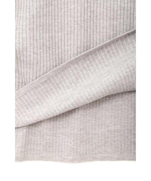 PROPORTION BODY DRESSING(プロポーション ボディドレッシング)/ハートネック袖レースリブニットワンピース/1218240907_img15