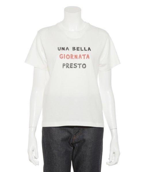 Mila Owen(ミラオーウェン)/3段ロゴTシャツ/09WCT184181_img02