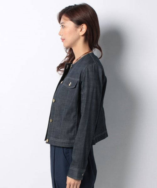 LAPINE BLEUE(ラピーヌ ブルー)/【洗える】ハイパーデニムジャケット/236228_img01