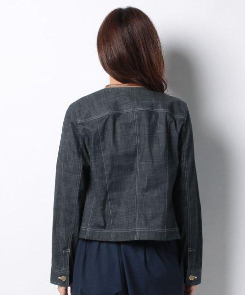 LAPINE BLEUE(ラピーヌ ブルー)/【洗える】ハイパーデニムジャケット/236228_img02