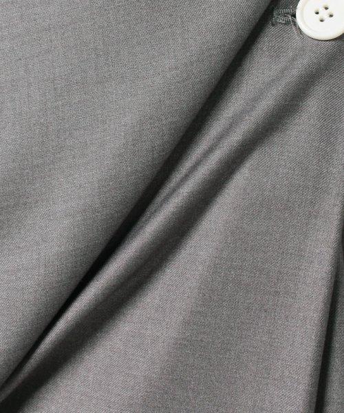 LAPINE BLEUE(ラピーヌ ブルー)/【洗える】ラップ風セミフレアースカート/239496_img04