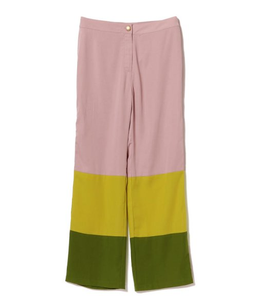 BEAMS OUTLET(ビームス アウトレット)/sister jane / Color Blok Pants/61230484241_img01