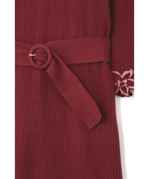 PROPORTION BODY DRESSING(プロポーション ボディドレッシング)/ハートネック袖レースリブニットワンピース/1218240907_img28