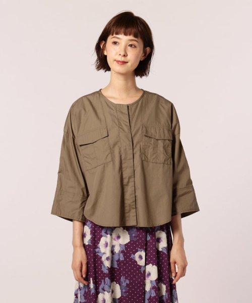 FREDY REPIT(フレディレピ)/ブロード胸ポケットシャツブルゾン/8-0012-5-24-003_img01