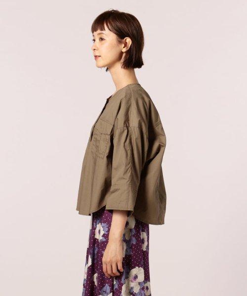 FREDY REPIT(フレディレピ)/ブロード胸ポケットシャツブルゾン/8-0012-5-24-003_img02