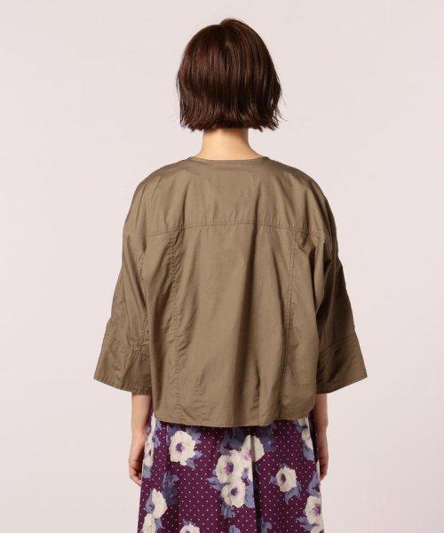 FREDY REPIT(フレディレピ)/ブロード胸ポケットシャツブルゾン/8-0012-5-24-003_img03
