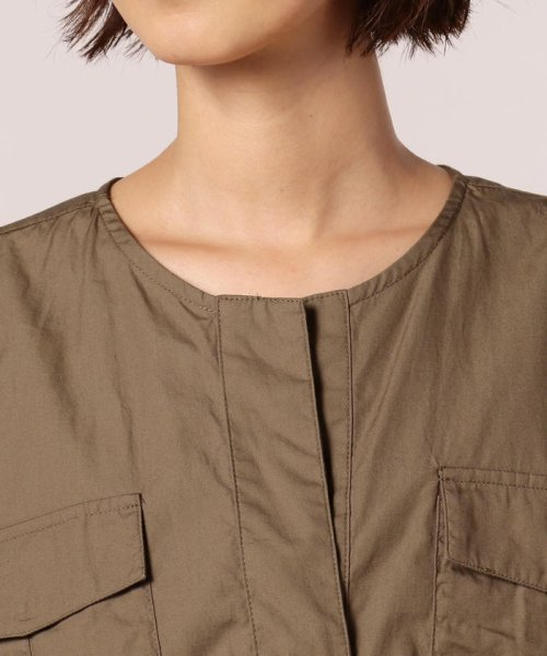 FREDY REPIT(フレディレピ)/ブロード胸ポケットシャツブルゾン/8-0012-5-24-003_img04