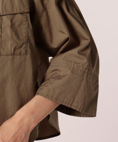 FREDY REPIT(フレディレピ)/ブロード胸ポケットシャツブルゾン/8-0012-5-24-003_img05