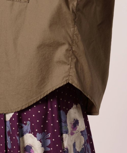 FREDY REPIT(フレディレピ)/ブロード胸ポケットシャツブルゾン/8-0012-5-24-003_img06
