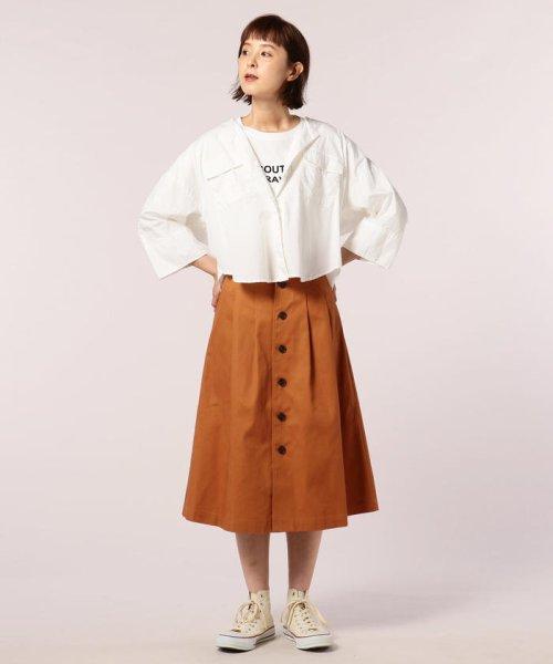 FREDY REPIT(フレディレピ)/ブロード胸ポケットシャツブルゾン/8-0012-5-24-003_img08