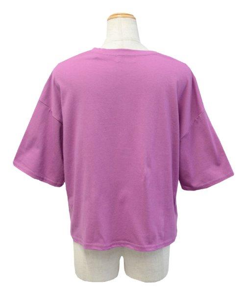 ANDJ(ANDJ(アンドジェイ))/三ツ星刺繍ゆるTシャツ/ts76x03991_img20