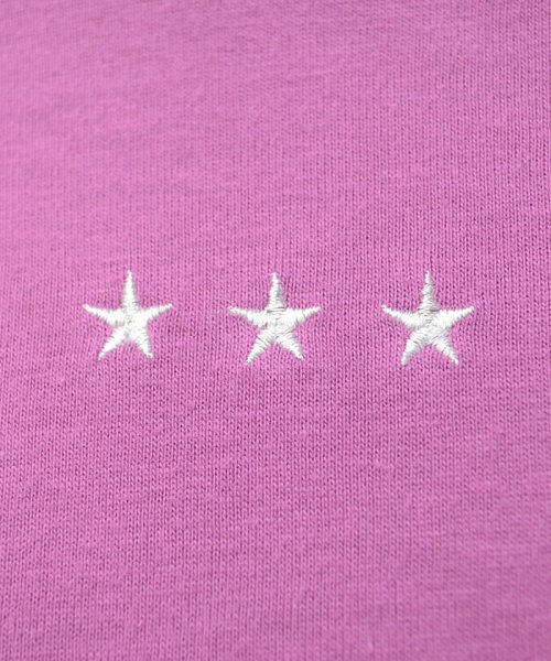 ANDJ(ANDJ(アンドジェイ))/三ツ星刺繍ゆるTシャツ/ts76x03991_img26