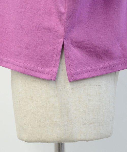 ANDJ(ANDJ(アンドジェイ))/三ツ星刺繍ゆるTシャツ/ts76x03991_img28