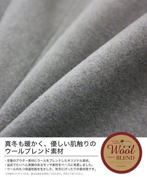 SocialGIRL(ソーシャルガール)/ロング丈チェスターコート/145512-41-108_img07
