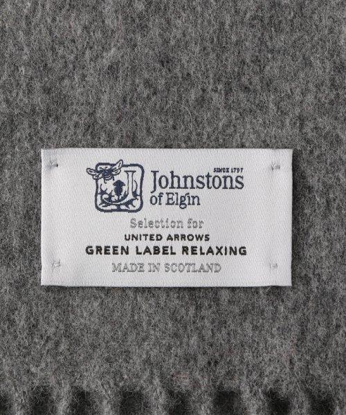 green label relaxing(グリーンレーベルリラクシング)/[別注][ジョンストンズ]JOHNSTONS SC チェックストール 18AW/36363430788_img08